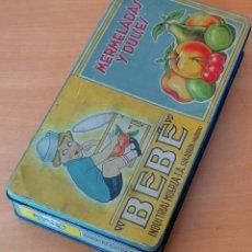 Cajas y cajitas metálicas: CAJA DE HOJALATA. Lote 142330342