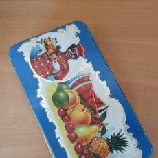 Cajas y cajitas metálicas: CAJA DE HOJALATA. Lote 142330742