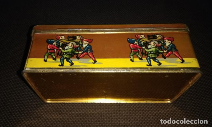 Cajas y cajitas metálicas: Caja de Hojalata Vacía Litografiada de Máquinas de Coser Wertheim - Foto 4 - 142361518