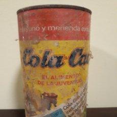 Cajas y cajitas metálicas: LATA COLA CAO. Lote 142620688