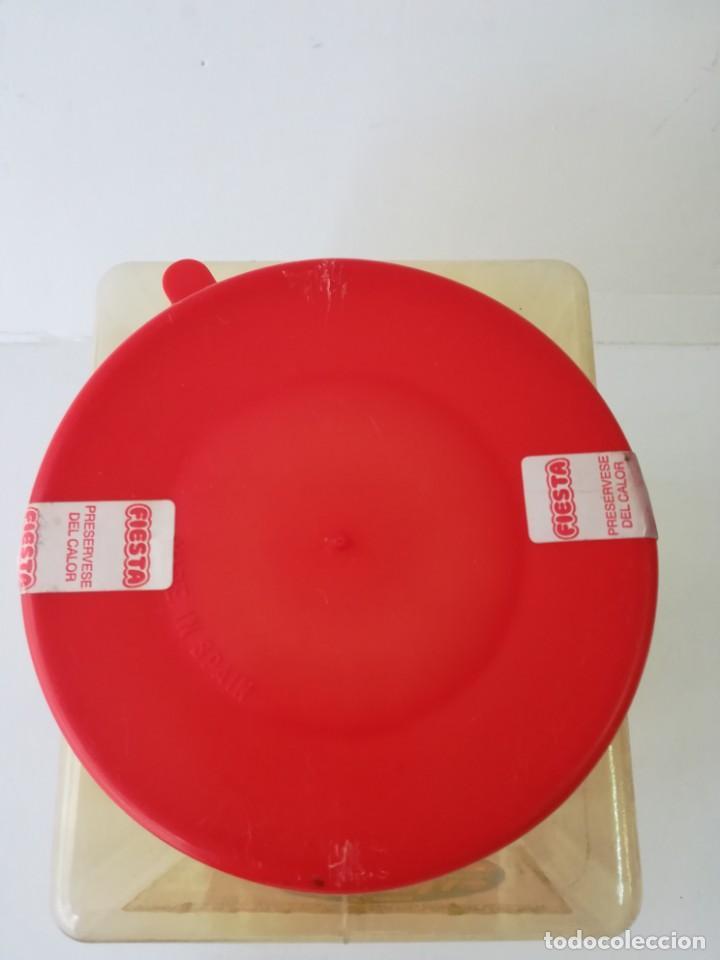 Cajas y cajitas metálicas: caja bote expositor caramelos fiesta bolon de chicle recubierto de caramelo años 80. - Foto 4 - 142693430