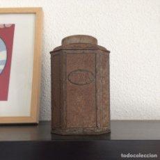 Cajas y cajitas metálicas: CAJA METÁLICA DE TÉ. Lote 143072010