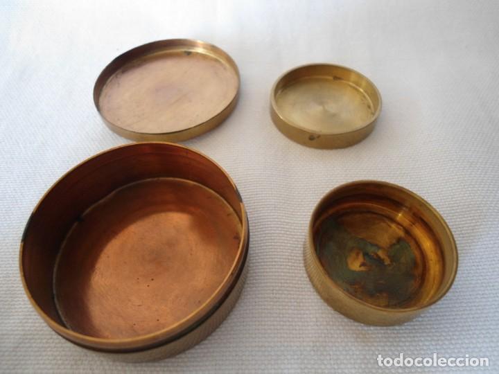 Cajas y cajitas metálicas: PAREJA DE CAJITAS DE METAL - Foto 2 - 143510062