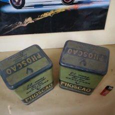 Cajas y cajitas metálicas: CAJAS ANTIGUAS. Lote 143651365