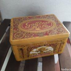Cajas y cajitas metálicas: CAJA METAL GALLETAS BIRBA. Lote 143712106