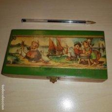 Cajas y cajitas metálicas: CAJITA JABONES. Lote 143719654