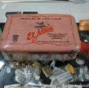 Cajas y cajitas metálicas: CAJA METALICA PASTILLAS DE CAFE Y LECHE EL AVION. FABRICA DE LOGROÑO. . Lote 144262802