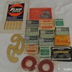 Cajas y cajitas metálicas: LOTE DE VARIAS CAJAS ANTIGUAS . Lote 144722530
