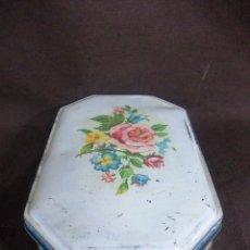 Cajas y cajitas metálicas: ANTIGUA CAJA DE CARAMELOS INGLESA BLUE BIRD TOFFEE. Lote 145059654