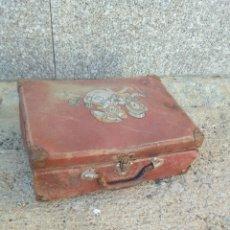 Cajas y cajitas metálicas: MALETA ANTIGUA DE ESCUELA. Lote 145376853