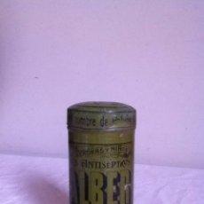 Cajas y cajitas metálicas: POLVOS CALBER. Lote 145499806