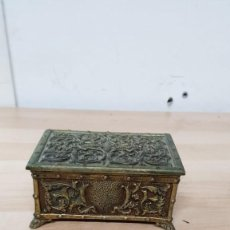 Blechdosen und Kisten - CAJA JOYERO BRONCE - 145839350