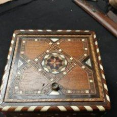 Cajas y cajitas metálicas: CAJA MADERA . Lote 146040318