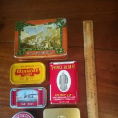 Cajas y cajitas metálicas: CAJAS DE TABACO. Lote 146092126