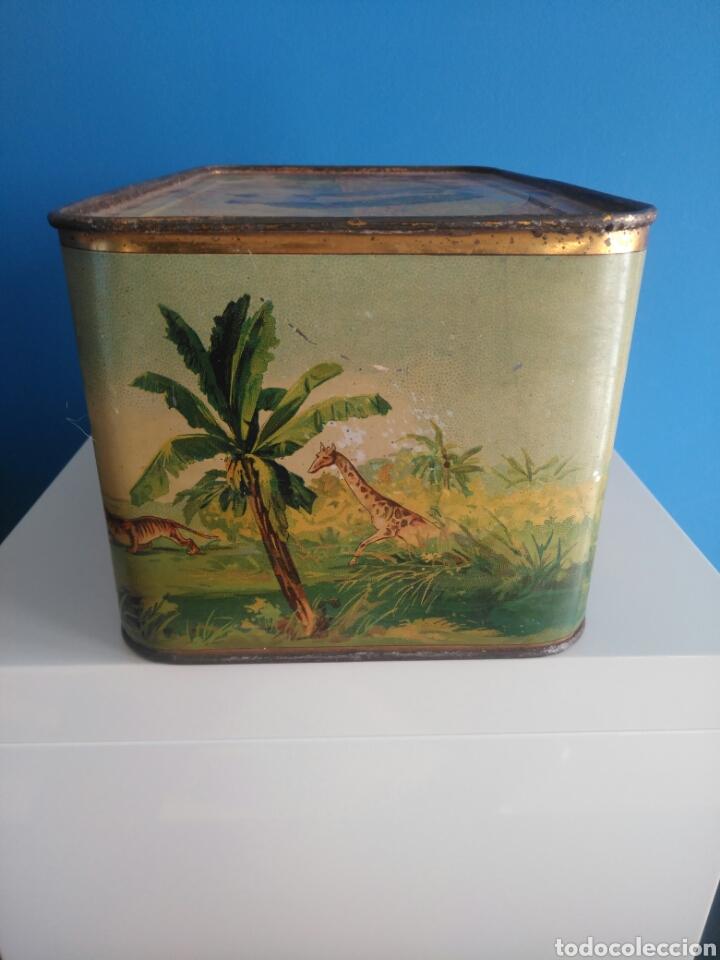 Cajas y cajitas metálicas: Preciosa y dificil caja metalica Mixed Saffron. G. De andreis Badalona 1920. - Foto 3 - 146648492