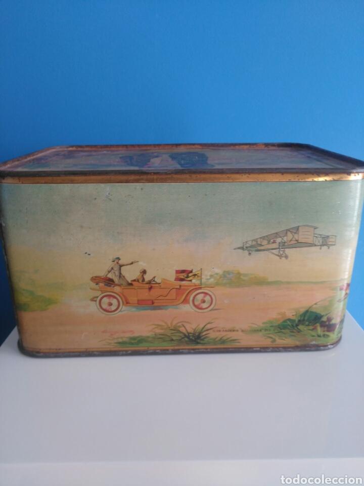 Cajas y cajitas metálicas: Preciosa y dificil caja metalica Mixed Saffron. G. De andreis Badalona 1920. - Foto 4 - 146648492