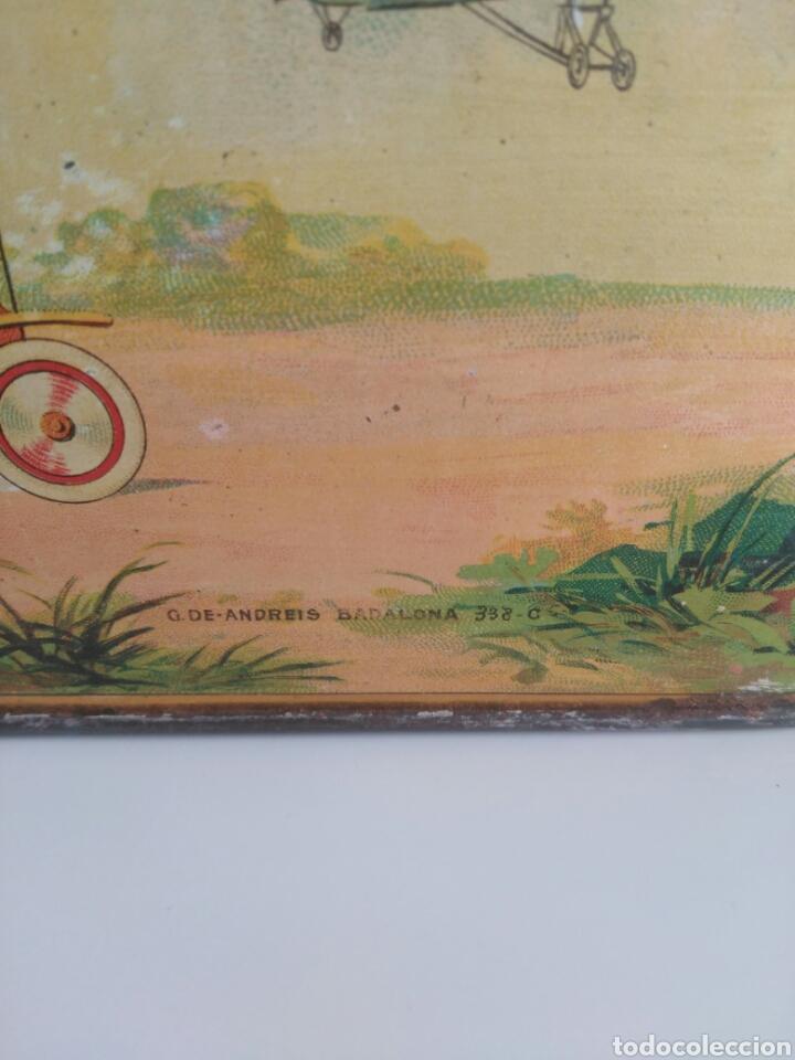 Cajas y cajitas metálicas: Preciosa y dificil caja metalica Mixed Saffron. G. De andreis Badalona 1920. - Foto 5 - 146648492