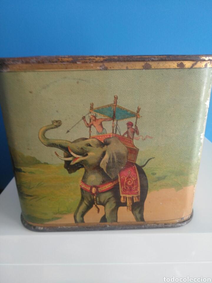 Cajas y cajitas metálicas: Preciosa y dificil caja metalica Mixed Saffron. G. De andreis Badalona 1920. - Foto 6 - 146648492
