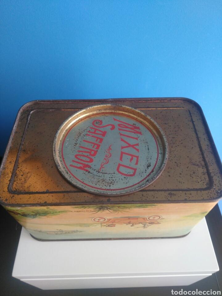 Cajas y cajitas metálicas: Preciosa y dificil caja metalica Mixed Saffron. G. De andreis Badalona 1920. - Foto 7 - 146648492