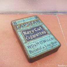 Cajas y cajitas metálicas: CAJITA CIGARRILLOS CAPSTAIN. Lote 147079013