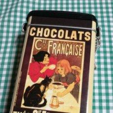 Cajas y cajitas metálicas: LATA CHOCOLATS/THÈS-CIE.FRANÇAISE. Lote 147506378
