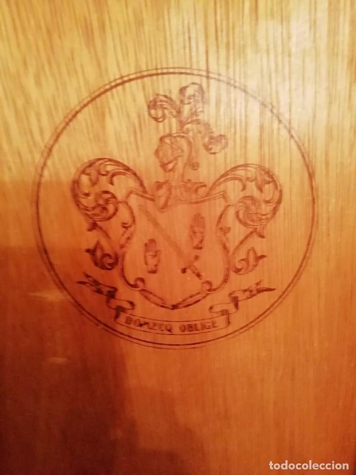 Blechdosen und Kisten: CAJA DE MADERA CARLOS I - Pedro Domecq (VACIA) - Foto 3 - 147789018