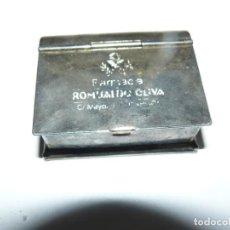 Cajas y cajitas metálicas: PASTILLERO. Lote 148073954