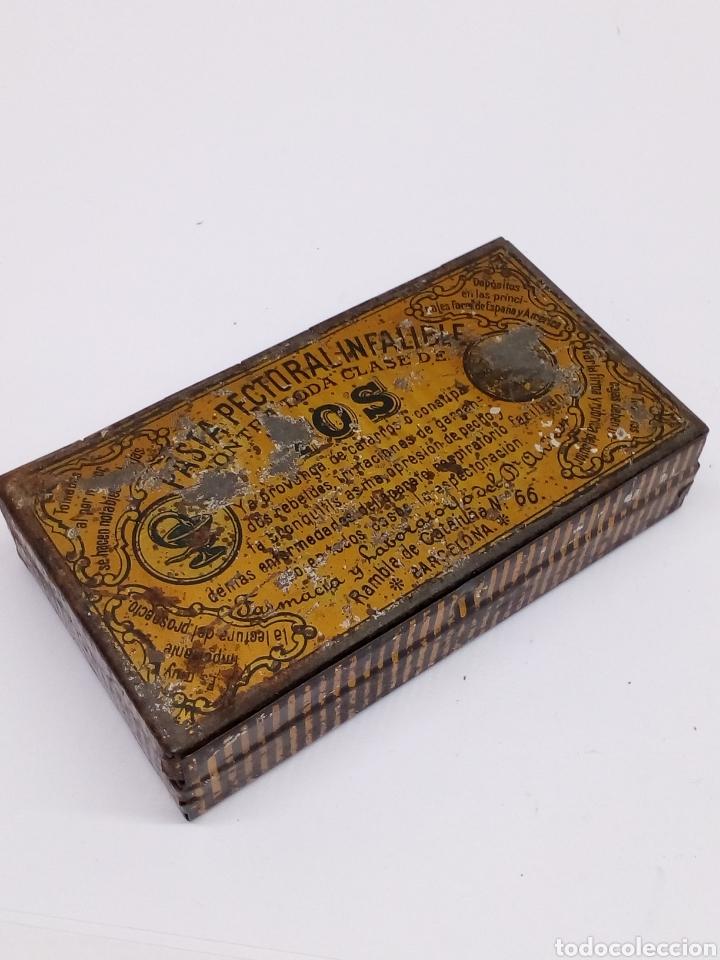 CAJA MEALICA TOS CAJA PECTORAL (Coleccionismo - Cajas y Cajitas Metálicas)