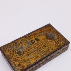Cajas y cajitas metálicas: CAJA MEALICA TOS CAJA PECTORAL. Lote 148210790