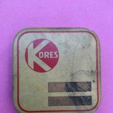Cajas y cajitas metálicas: CAJA METÁLICA KORES. Lote 148999310