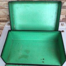 Cajas y cajitas metálicas: CAJA CON SOLAPA Y TAPA. Lote 149761146