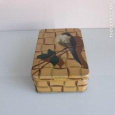 Cajas y cajitas metálicas: CAJA METÁLICA - GRAN FÁBRICA DE ALMENDRAS GARAPIÑADAS - VIUDA MANUEL PASTOR - A. HENARES. Lote 150135318