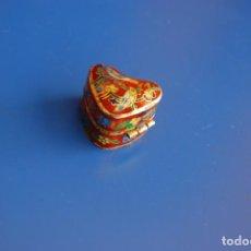 Cajas y cajitas metálicas: ANTIGUO PASTILLERO. Lote 150286298