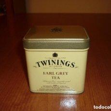 Cajas y cajitas metálicas: CAJA METALICA -TEA TWININGS EARL GREY -LONDON. Lote 150617906
