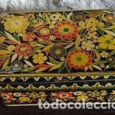 Cajas y cajitas metálicas: CAJA COLA CAO. BAJA. Lote 150713425