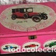 Cajas y cajitas metálicas: CAJA COLA CAO. BAJA. PILAIN 1911. Lote 150713429
