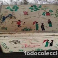 Cajas y cajitas metálicas: CAJA COLA CAO BAJA BOTIQUÍN. MOTIVOS CHINESCOS. Lote 150713449