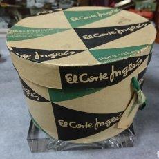 Cajas y cajitas metálicas: CAJA ANTIGUA DE EL CORTE INGLES. Lote 150940570