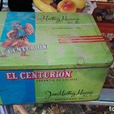 Cajas y cajitas metálicas: LATA DE PIMENTÓN EL CENTURIÓN. JOSÉ MARTINEZ MACANÁS. ESPINARDO. MURCIA.. Lote 150987362