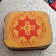 Cajas y cajitas metálicas: CAJA CEA MADRID. Lote 151395040
