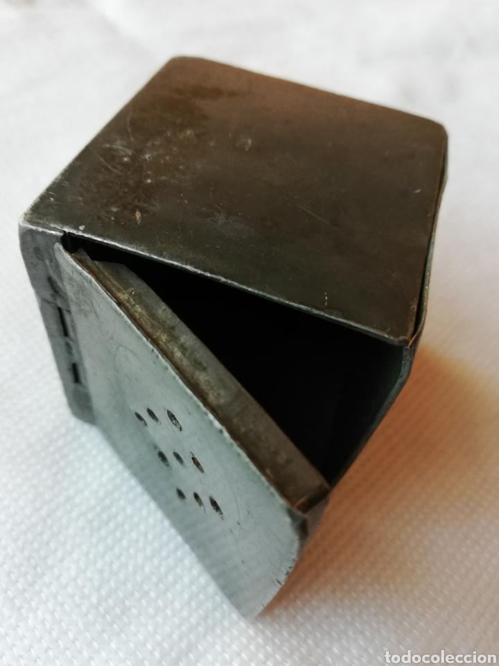 CAJA ANTIGUA METALICA (Coleccionismo - Cajas y Cajitas Metálicas)