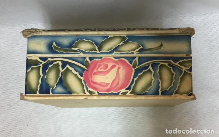 Cajas y cajitas metálicas: GAL, CAJA DE SEDA PINTADA AÑOS 20/30 - Foto 4 - 151488314