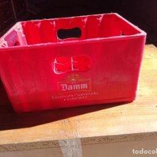 Cajas y cajitas metálicas: CAJA DE PLASTICO DE CERVEZAS DAMM. Lote 151599642