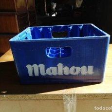 Cajas y cajitas metálicas: CAJA DE PLASTICO DE CERVEZAS MAHON. Lote 151599786
