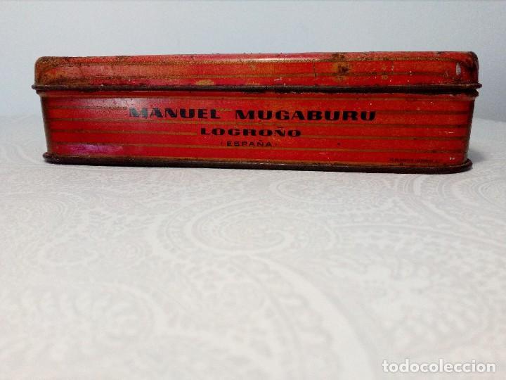 Cajas y cajitas metálicas: CAJA METALICA EL EXPLORADOR LOGROÑO PASTILLAS DE CAFÉ Y LECHE (MANUEL MUGABURU LOGROÑO) - Foto 2 - 151606390