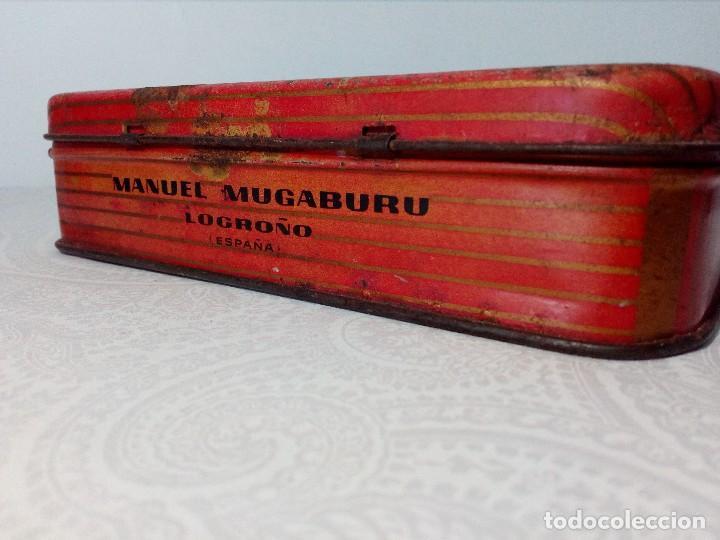 Cajas y cajitas metálicas: CAJA METALICA EL EXPLORADOR LOGROÑO PASTILLAS DE CAFÉ Y LECHE (MANUEL MUGABURU LOGROÑO) - Foto 3 - 151606390