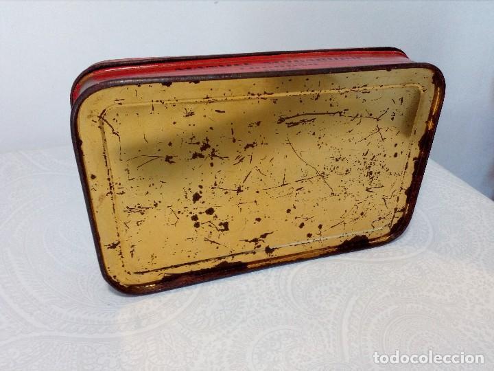 Cajas y cajitas metálicas: CAJA METALICA EL EXPLORADOR LOGROÑO PASTILLAS DE CAFÉ Y LECHE (MANUEL MUGABURU LOGROÑO) - Foto 6 - 151606390