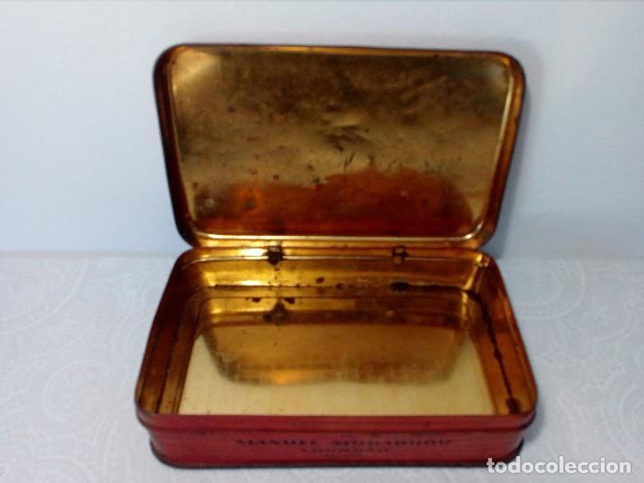 Cajas y cajitas metálicas: CAJA METALICA EL EXPLORADOR LOGROÑO PASTILLAS DE CAFÉ Y LECHE (MANUEL MUGABURU LOGROÑO) - Foto 7 - 151606390