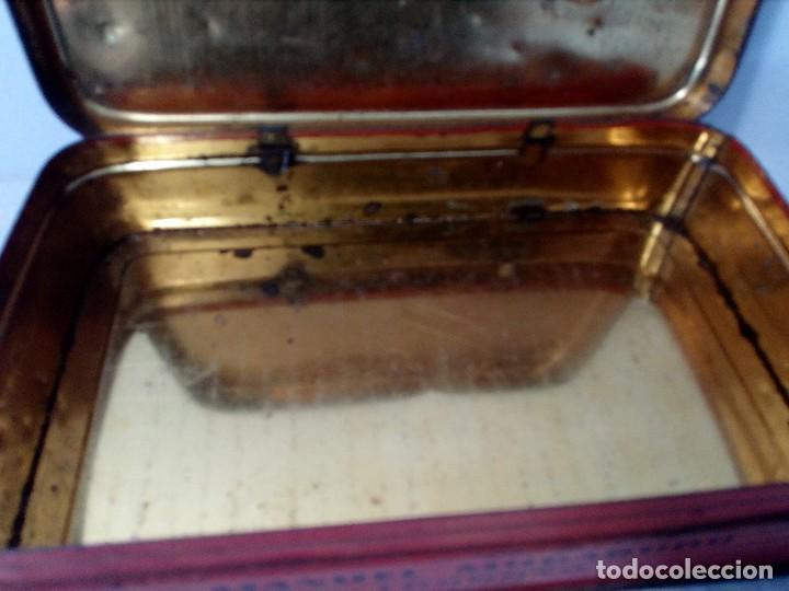 Cajas y cajitas metálicas: CAJA METALICA EL EXPLORADOR LOGROÑO PASTILLAS DE CAFÉ Y LECHE (MANUEL MUGABURU LOGROÑO) - Foto 8 - 151606390
