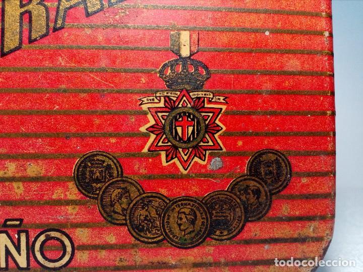 Cajas y cajitas metálicas: CAJA METALICA EL EXPLORADOR LOGROÑO PASTILLAS DE CAFÉ Y LECHE (MANUEL MUGABURU LOGROÑO) - Foto 12 - 151606390